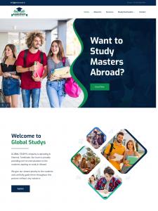 Global Studys - Multi-Page Web Design